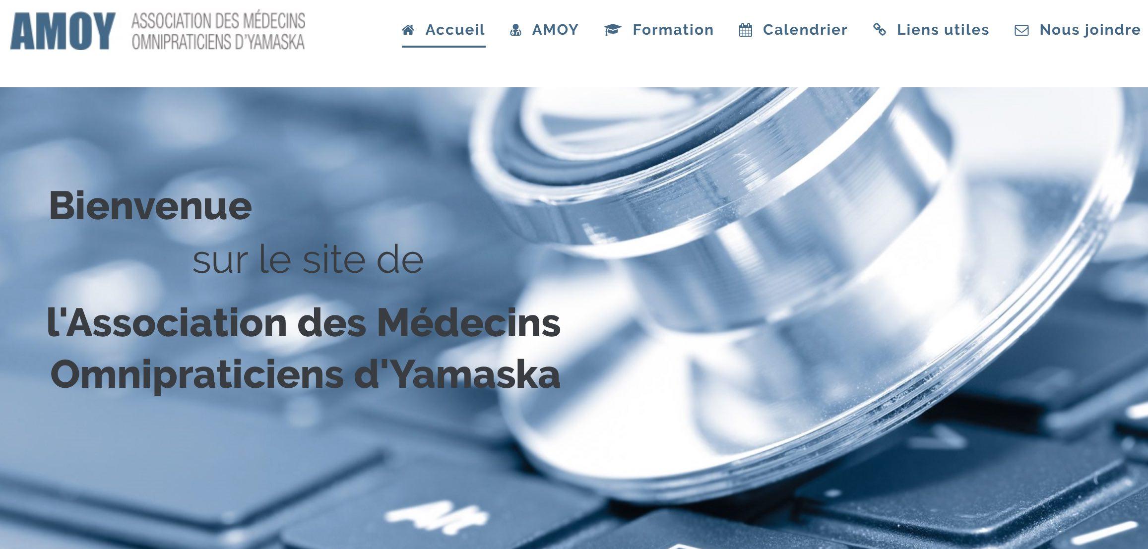 site Internet de l'AMOY