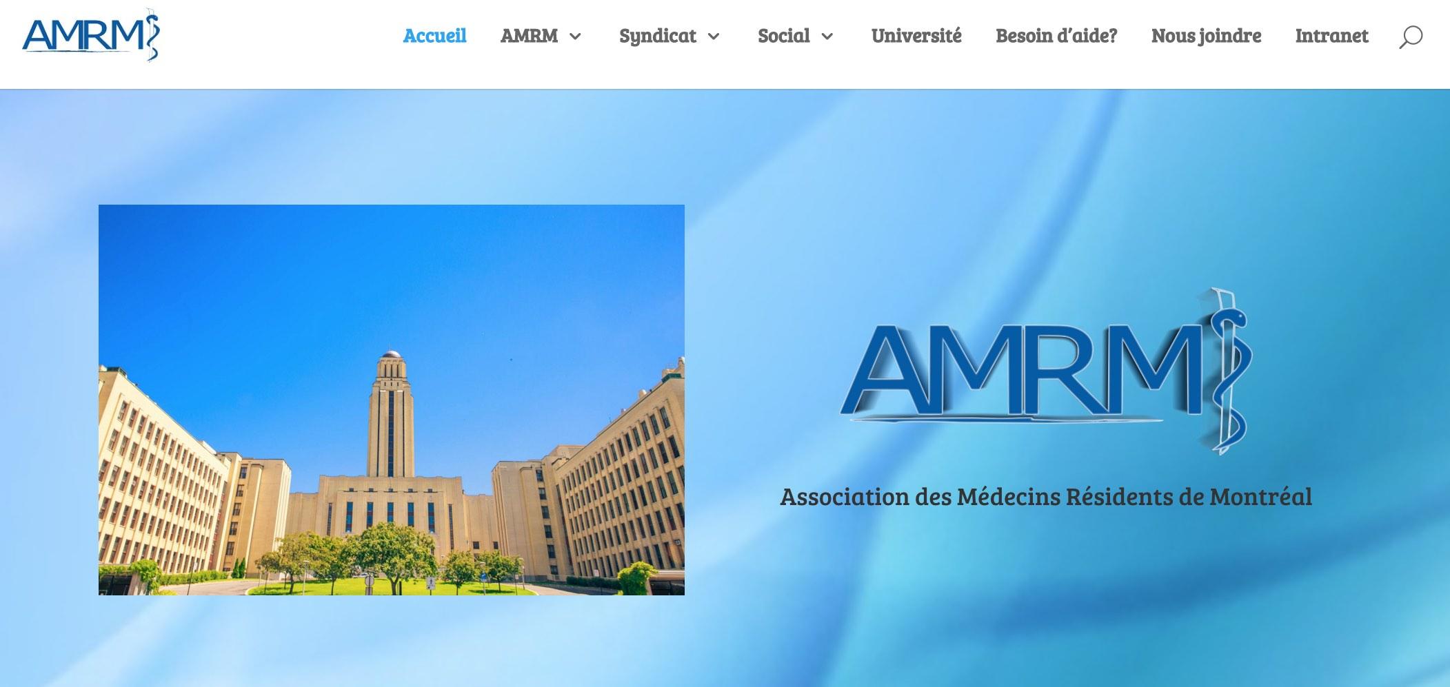 Image du site de l'AMRM